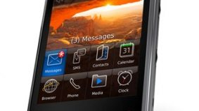 RIM embraces its square-ness and provides software for other, cooler smartphones