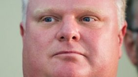 Rob Ford's weight loss campaign is officially a downer