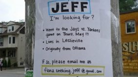 Romantic and desperate woman posters Leslieville seeking soulmate