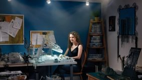 House Calls: Nicole Kagan creates wearable art from her basement
