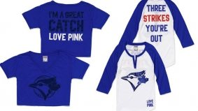 Check out Victoria's Secret's sexually suggestive Toronto Blue Jays–branded loungewear
