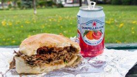 Weekly Lunch Pick: a wonderfully sloppy brisket sandwich at Black Camel