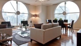 Condomonium: $1 million for a suite in a King West clock tower (round windows included)