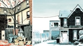 Current Obsession: illustrator Michael Cho celebrates the unsung parts of Toronto, one back lane at time