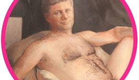 The nude painting of Stephen Harper has been sold