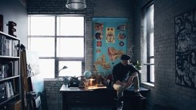 Great Spaces: a filmmaker turns a former car repair shop into a killer bachelor pad