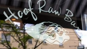 Introducing: Hoof Raw Bar, the new seafood addition to the Hoof family