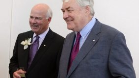 Gallery: Conrad Black and Peter Mansbridge reunite at the National Business Book Award luncheon
