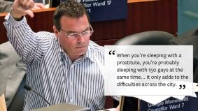 QUOTED: Giorgio Mammoliti explains how to have sex with 150 men at once