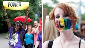 GALLERY: some of our favourite signs, outfits and marchers at the second annual SlutWalk