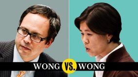 Kristyn Wong-Tam and Denzil Minnan-Wong argue over how to turn Yonge into New York