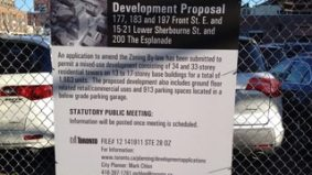 Condo backlash: St. Lawrence Neighbourhood Association scorns a proposal for two tall towers