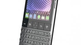 RIM unveils its slickest smartphone ever—the Porsche BlackBerry (price tag: nearly $2,000)