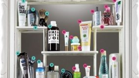 Vain Glory: a his-and-hers medicine cabinet stocked with everything you need