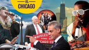 Toronto vs. Chicago: mayors, ballparks and nicknames edition