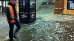 Flooding (and a little sewage) shuts down Yonge subway from Osgoode to Bloor