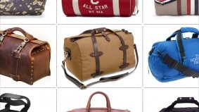 The Find: 10 duffle bags (some for sweaty socks, and some too precious to taint)