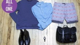 6 in 1: a seasonal men's outfit from Nomad that works on both hot and cold days