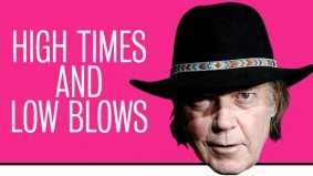 How does rock legend Neil Young maintain his street cred? By relentlessly undermining his every success