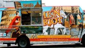 Introducing: Rome'n Chariot, a new truck serving Italian-Canadian comfort food