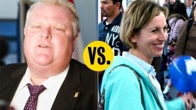 Karen Stintz and Rob Ford get passive-aggressive while celebrating the Spadina subway extension