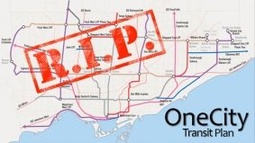 OneCity plan made waves, faltered, shrank and died, all in two weeks