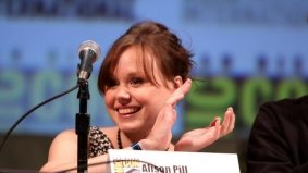 Five things we learned about Alison Pill, including how she owns a headshot of Aaron Sorkin