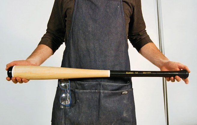 The Find: a baseball bat that's fancier than the average Louisville Slugger