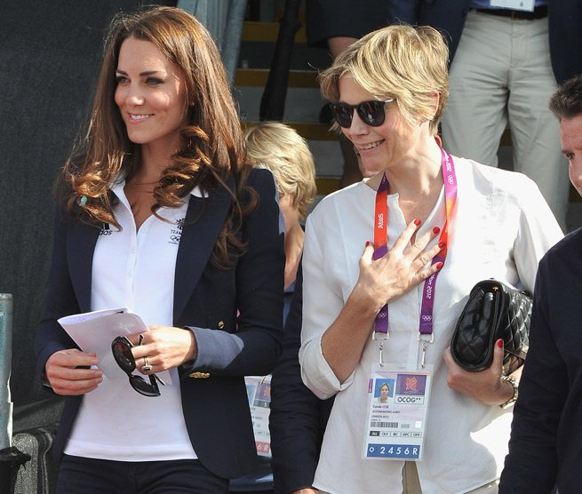 Kate Middleton wears Canadian designer Smythe to the Olympics