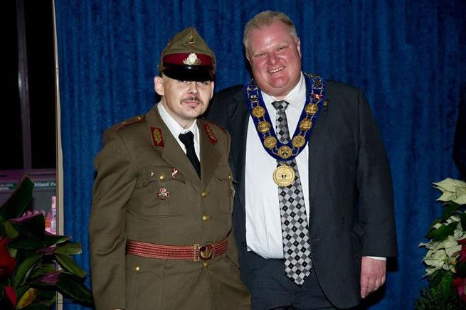 Rob Ford took a photo with a neo-Nazi (but he didn't know he was a neo-Nazi)