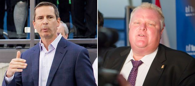 Rob Ford's meeting with Dalton McGuinty is a triumph, according to Rob Ford