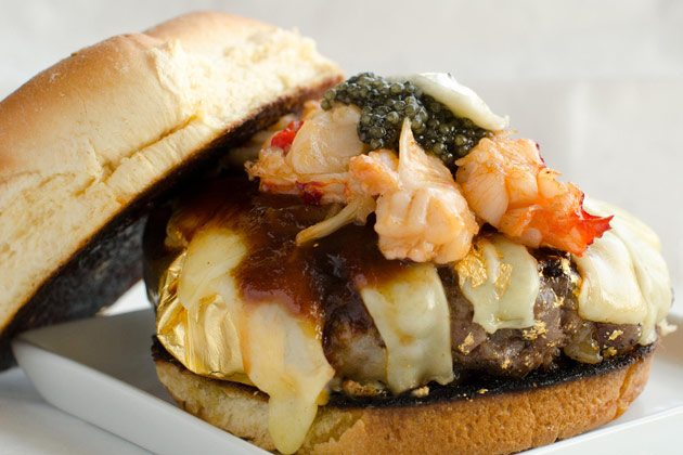 The latest escalation in the burger wars: New York's $666 Douche Burger