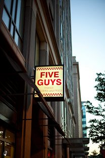 """How Five Guys dominated the """"better burger"""" market"""