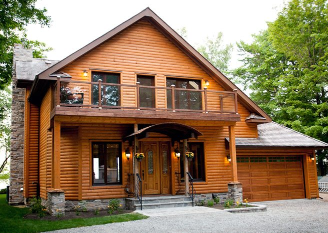 Cottage of the Week: $2 million for a log cabin with a sunset view of Lake Simcoe