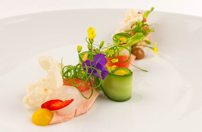 See all the courses from the stunning collaboration between Colborne Lane and Chicago's Grace