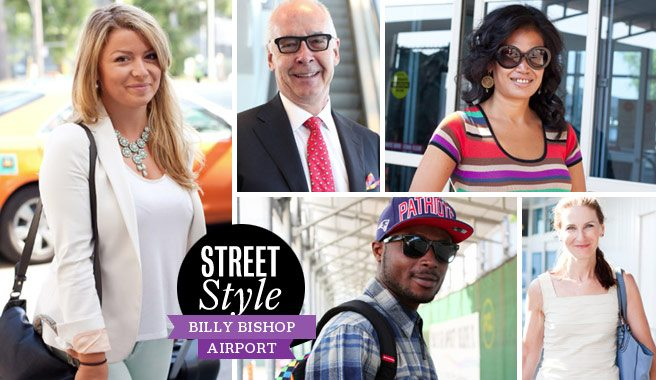 Street Style: 20 looks at the travellers at the Island airport