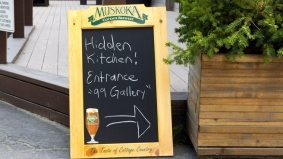 Introducing: Hidden Kitchen, a dinner series brought to you by a ghost chef, an ex-chef, a guest chef and a craft brewery