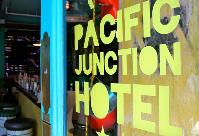 Introducing: Pacific Junction Hotel, a bright new island-themed bar from the owners of Betty's