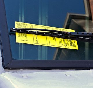A lot of parking tickets are bogus