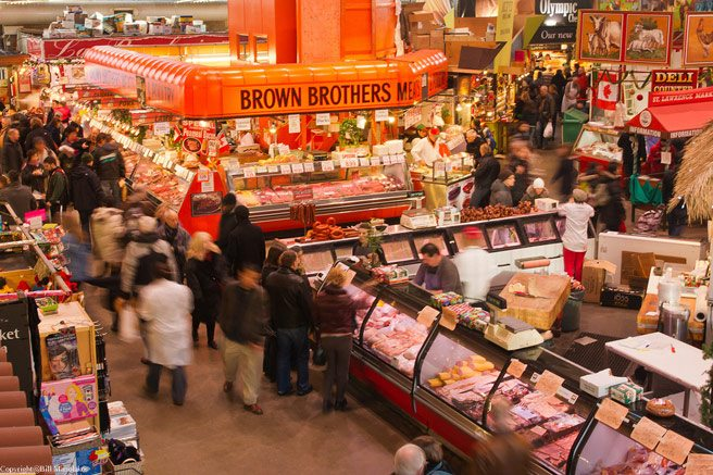 CNN Travel lists the St. Lawrence Market as one of the world's 10 best fresh markets