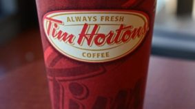 Tim Hortons starting to see declining in-store traffic