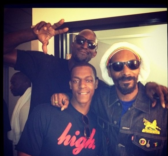 SPOTTED: Snoop Dogg's alter ego Snoop Lion popped by Toronto
