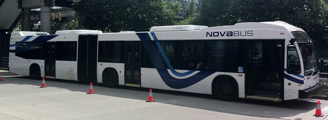 Coming soon to Toronto: bendy buses