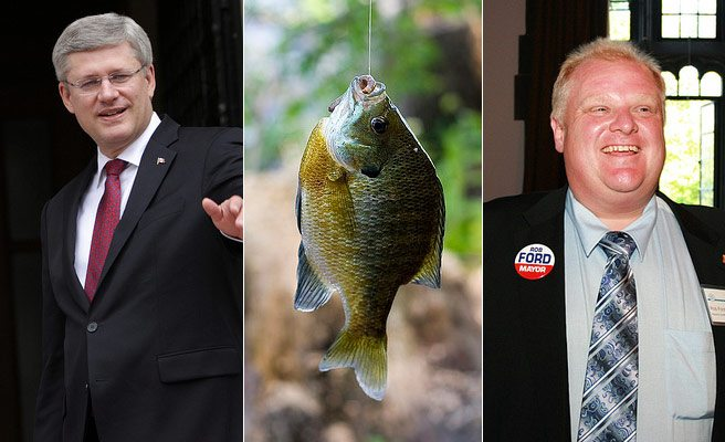 QUOTED: Rob Ford on what happens when he and Stephen Harper go fishing
