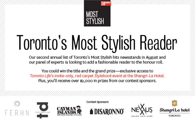 CONTEST: we're looking for Toronto Life's most stylish reader
