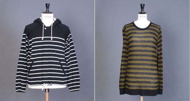 The Find: his and hers striped sweaters that will survive the transition from summer to fall