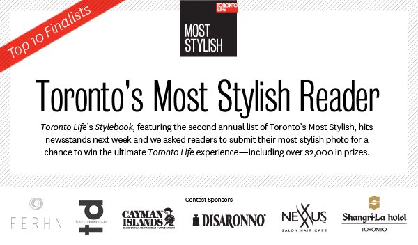 VOTE: Choose Toronto Life's most stylish reader