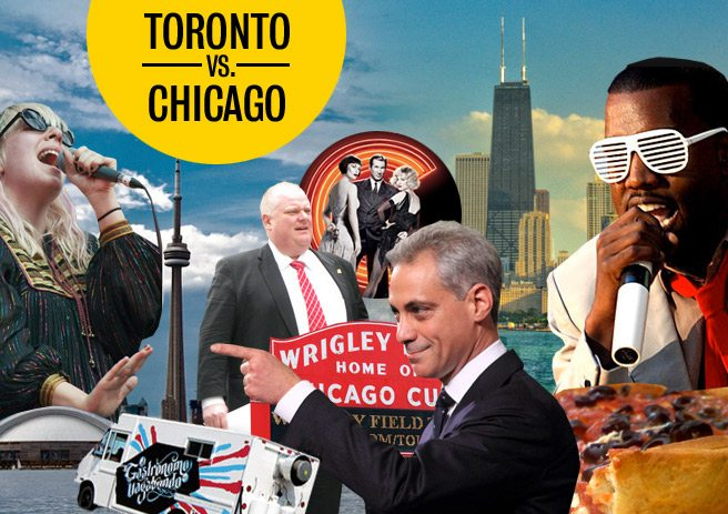 Toronto vs. Chicago: which city reigns supreme?