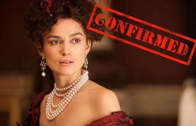 CONFIRMED: Keira Knightley returns to TIFF to promote Anna Karenina