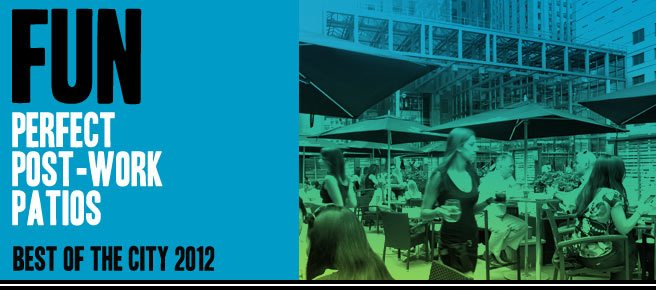 Best of the City 2012: three perfect post-work patios